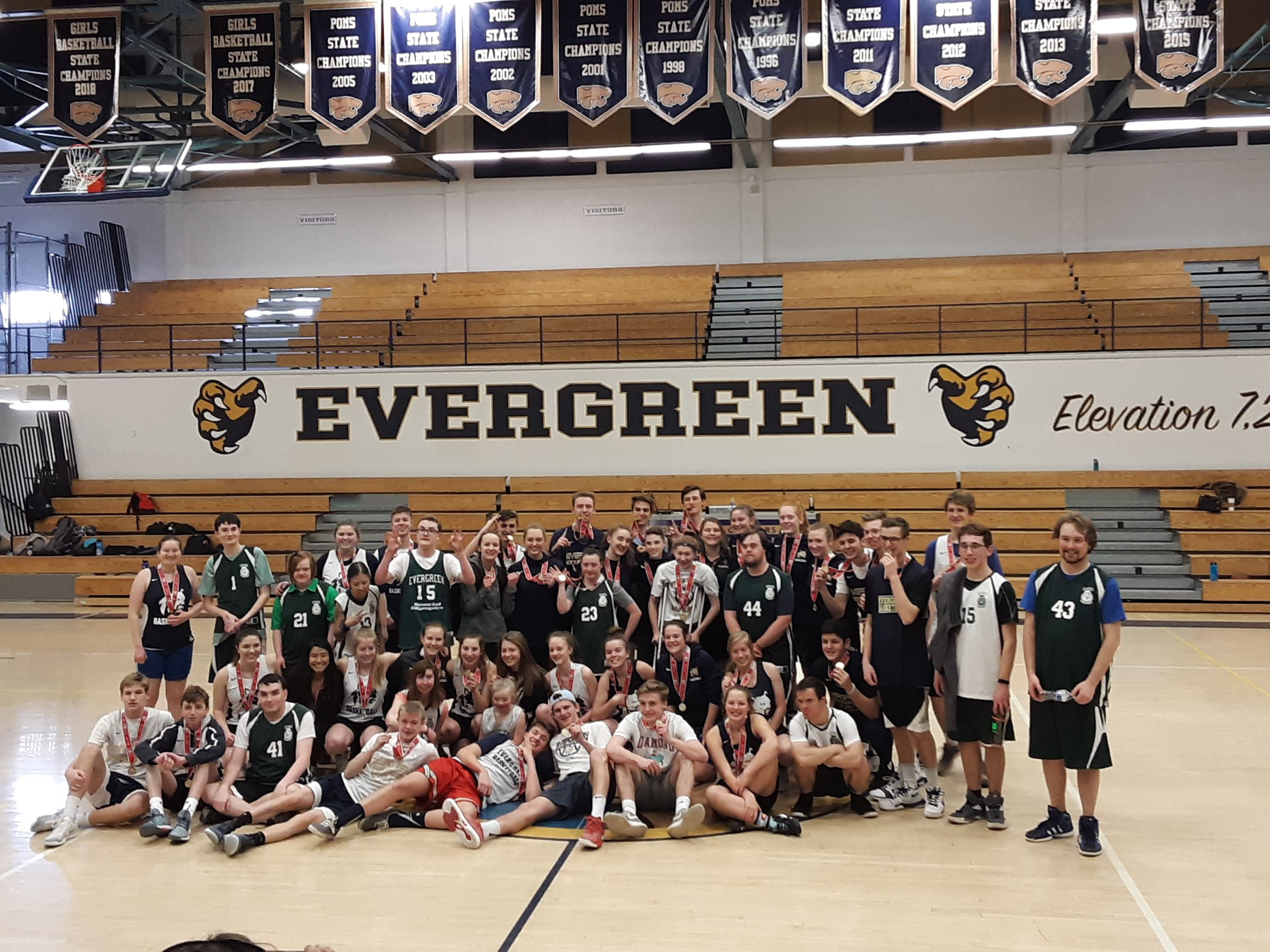 EHS-Special Olympics Baskeball Showcase 2019