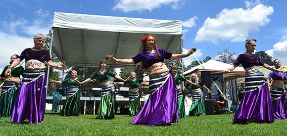Women Belly Dancing