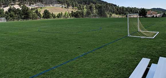 Graham Field with Soccer Goals
