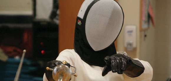 Person in Fencing Gear